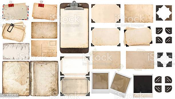 Paper sheets book old photo frames corners clipboard picture id513059364?b=1&k=6&m=513059364&s=612x612&h=y3lmwwsujrhegtgigbzgio0 4x7ujdhscivrvhaxji8=