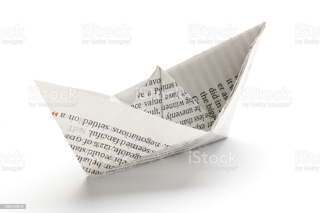 Papier-Schiff – Foto