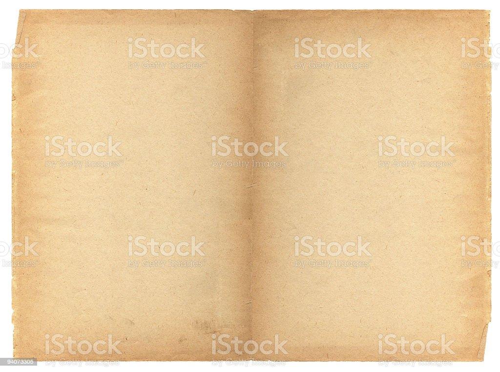 Paper Spread XXXL stock photo