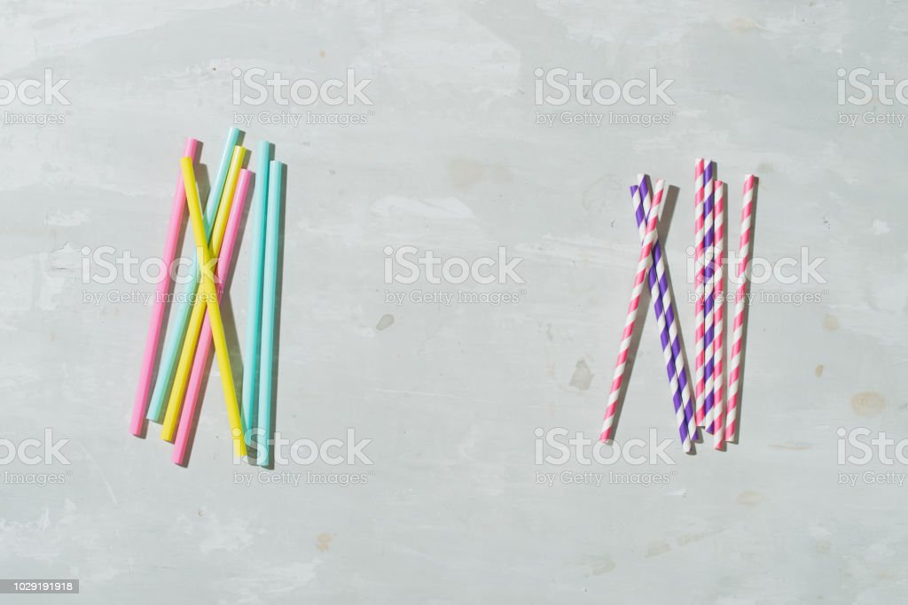 paper straw for drinking water just say \'no\' to plastic small and...