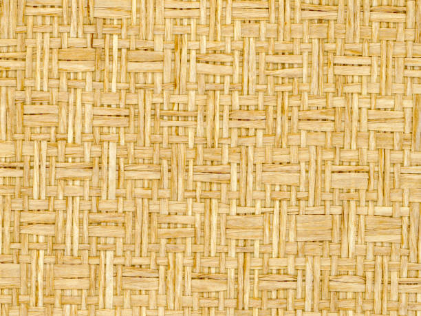 paper strips in twill weave stock photo