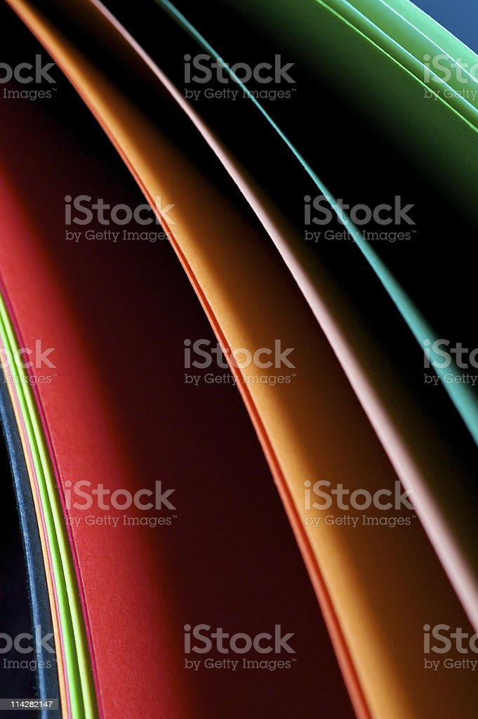 Paper Swatch... royalty-free stock photo