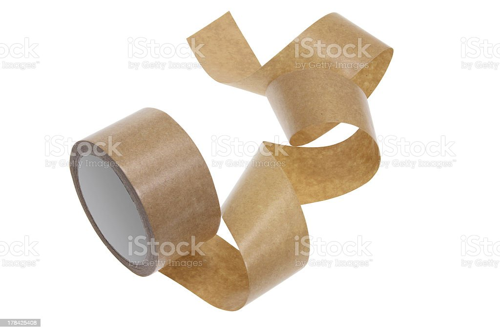 Paper Tape stock photo