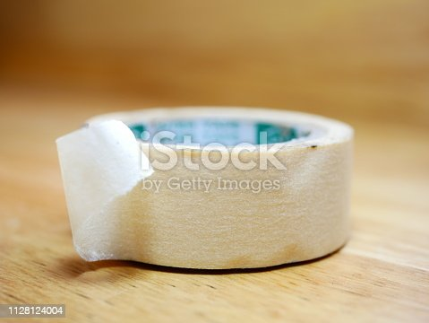 805500886 istock photo Paper Tape Roll 1128124004