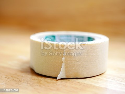 805500886 istock photo Paper Tape Roll 1128124007