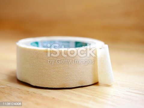805500886 istock photo Paper Tape Roll 1128124008