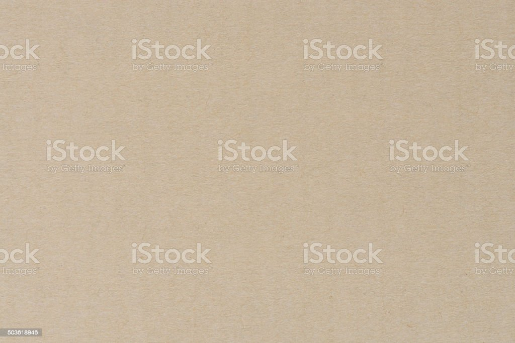 Paper texture - brown kraft sheet background. stock photo
