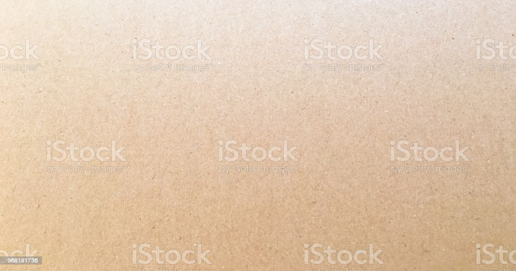 Paper texture - brown kraft sheet background. Textured paper surface. stock photo