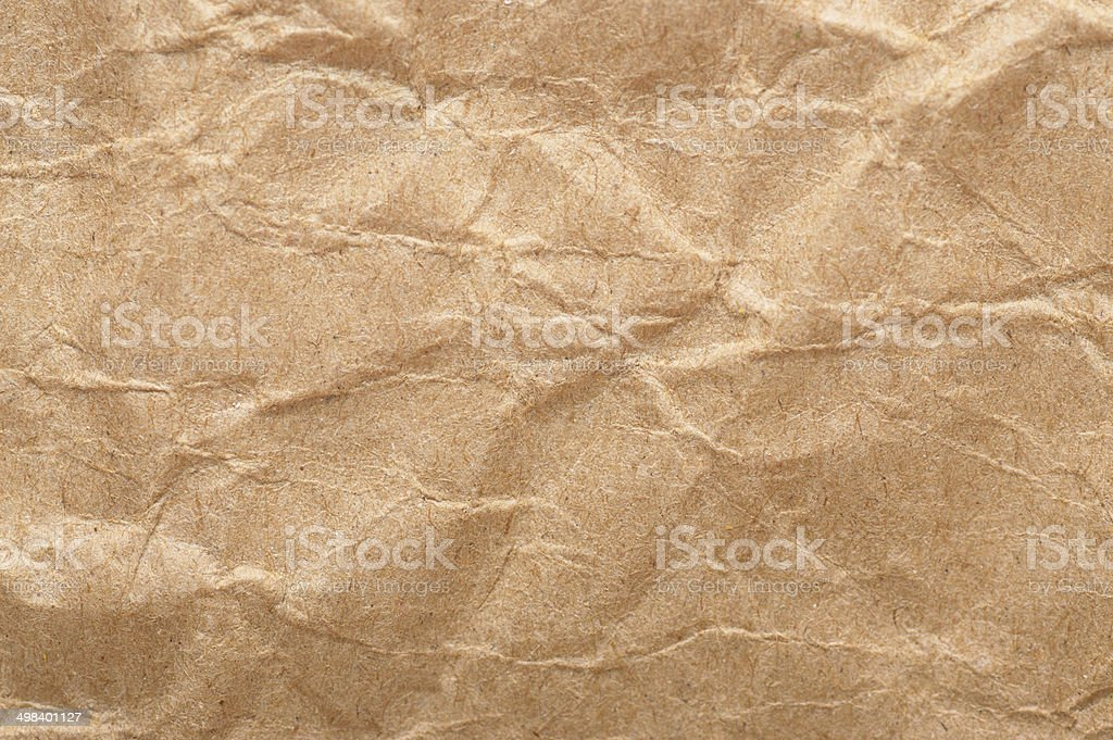 Paper texture - brown paper sheet. royalty-free stock photo