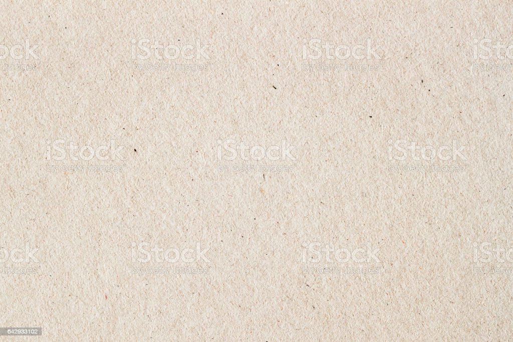 Paper texture cardboard background close-up. Grunge old paper surface texture stock photo
