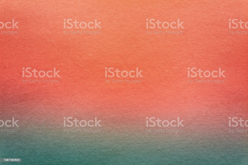 Paper Texture Or Background For Artwork Gently Blue, Aquamarine And Old Living Coral Colors Colours stock photo