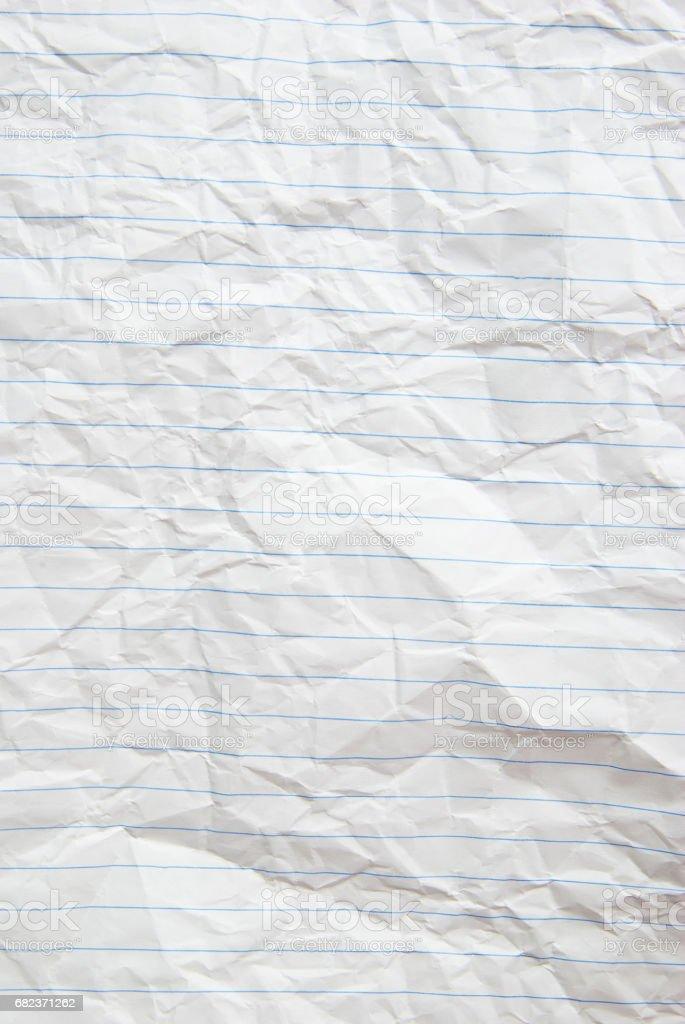 Paper texture. White paper sheet zbiór zdjęć royalty-free