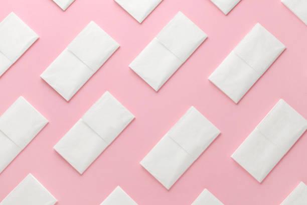 Papiergewebe abstraktes Muster auf rosa Hintergrund – Foto