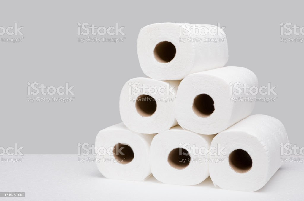 Paper towels royalty-free stock photo