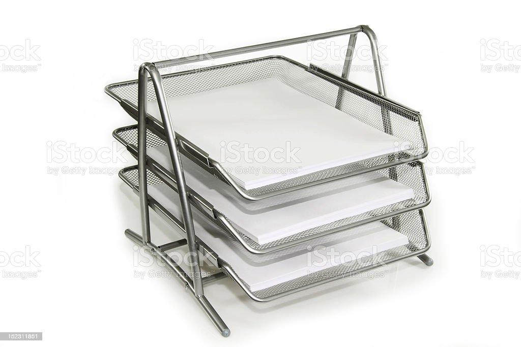 Paper tray royalty-free stock photo