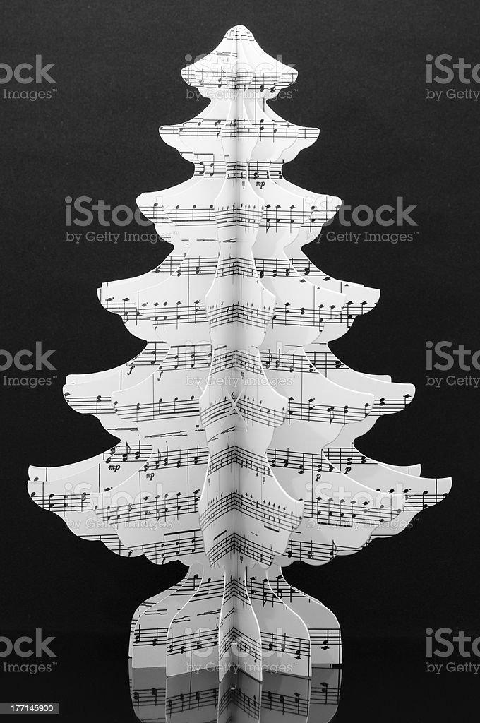 Paper tree royalty-free stock photo