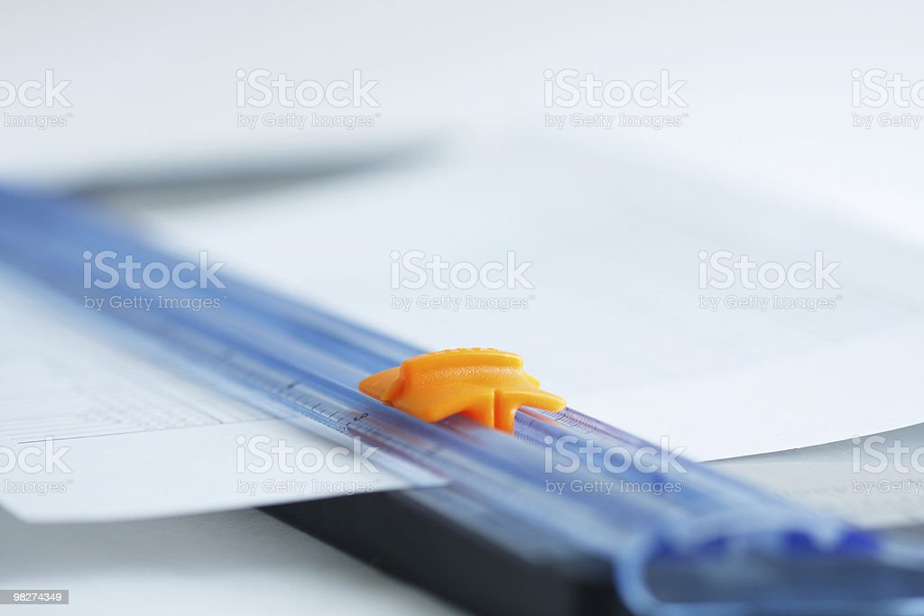 Paper Trimmer royalty-free stock photo