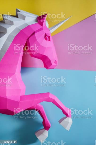 Paper unicorn head on a colored background picture id1195941134?b=1&k=6&m=1195941134&s=612x612&h=s6mtbc joy7xgff5g8glhhvklk98zqlut0m4xsuhqqk=