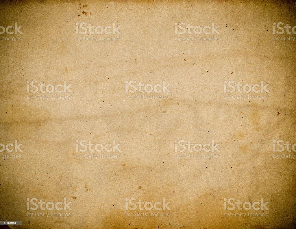 Paper w/ Vignette stock photo