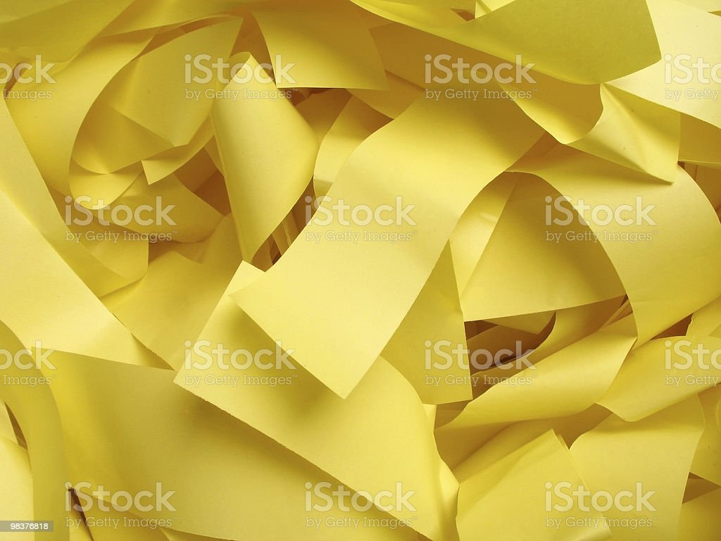 Paper waste royalty-free stock photo