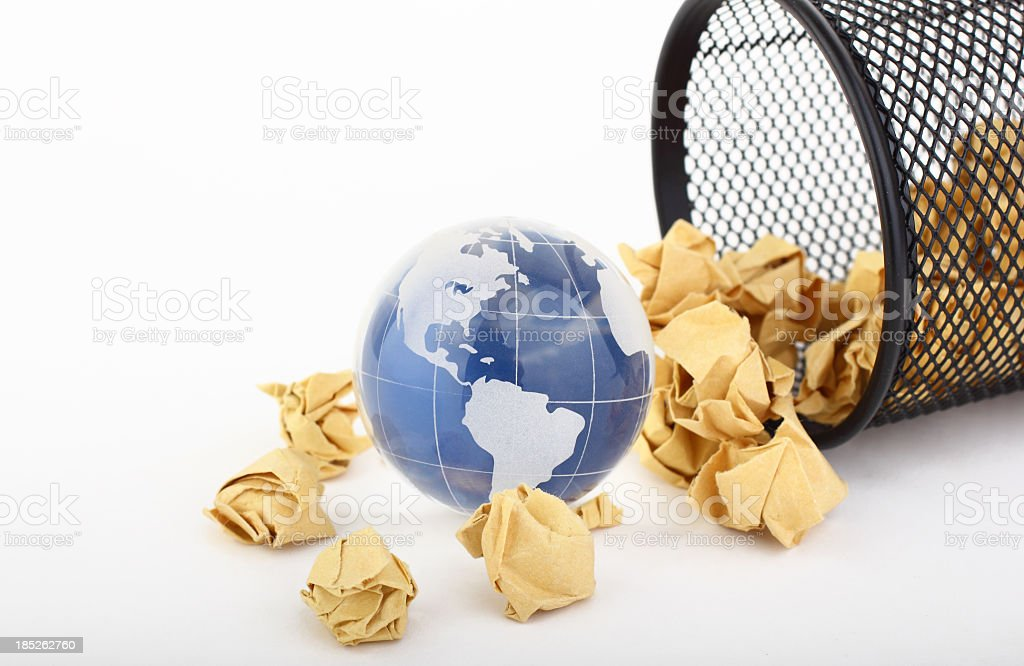 Paper Wastes stock photo