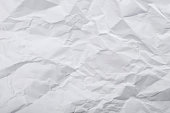 istock Paper white texture for background 1203793839