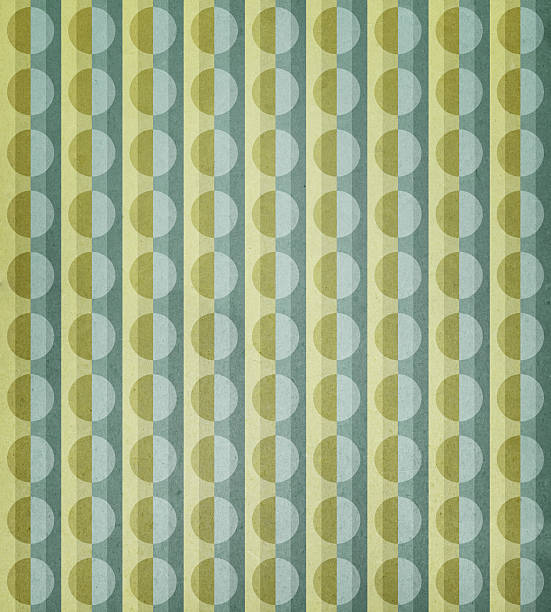 paper with circle and stripe pattern Please view more retro paper backgrounds here: wallpaper sample stock pictures, royalty-free photos & images