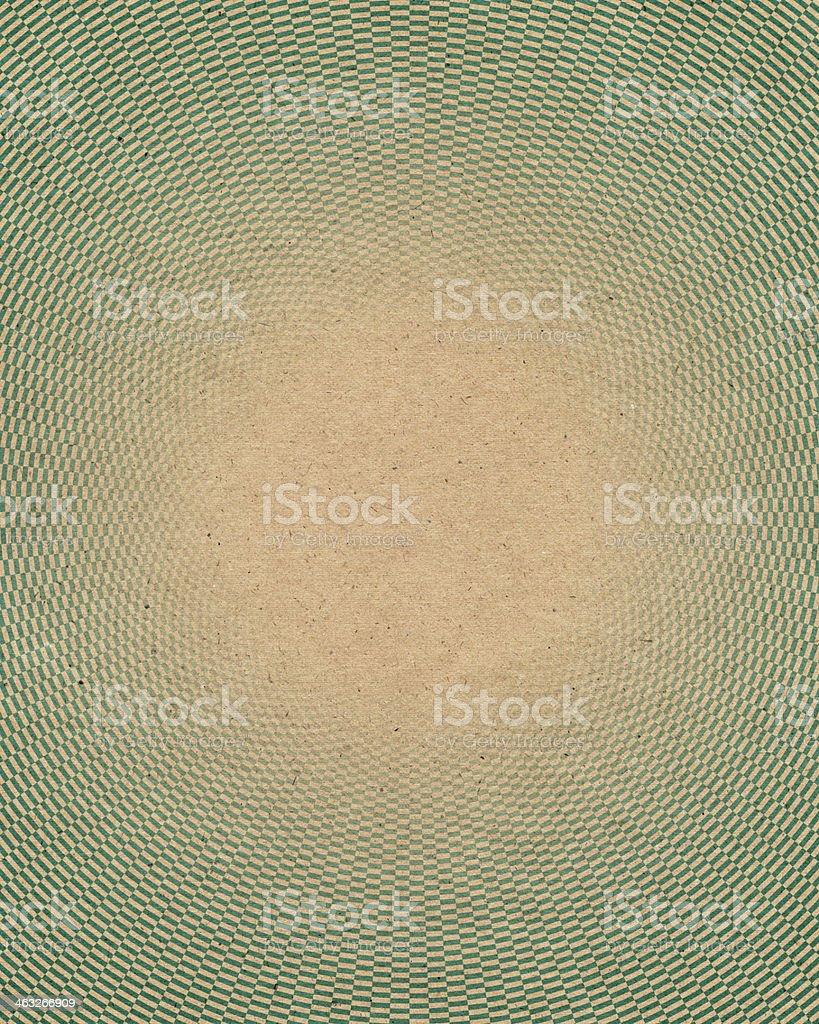 paper with geometric circle pattern stock photo