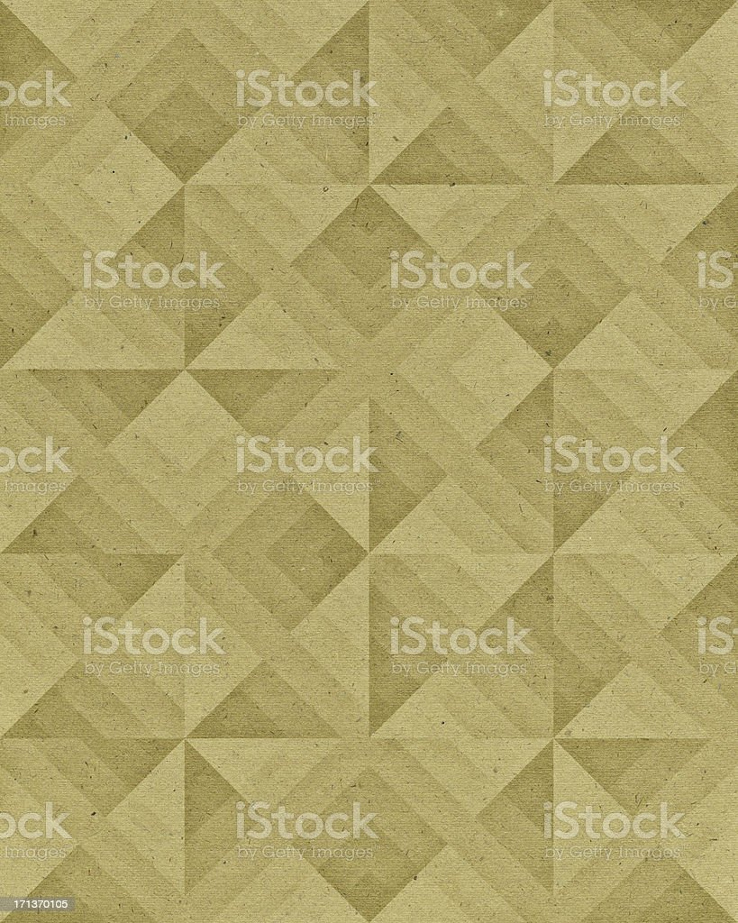 paper with geometric pattern royalty-free stock photo