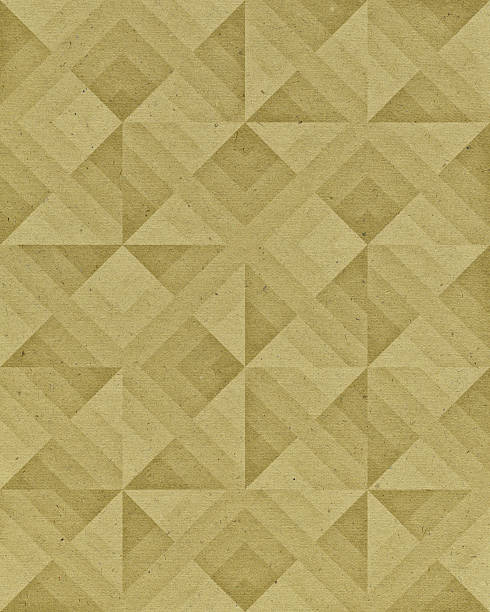 paper with geometric pattern - art deco stock photos and pictures