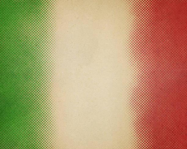 papel verde y rojo de semitono - bandera mexico fotografías e imágenes de stock
