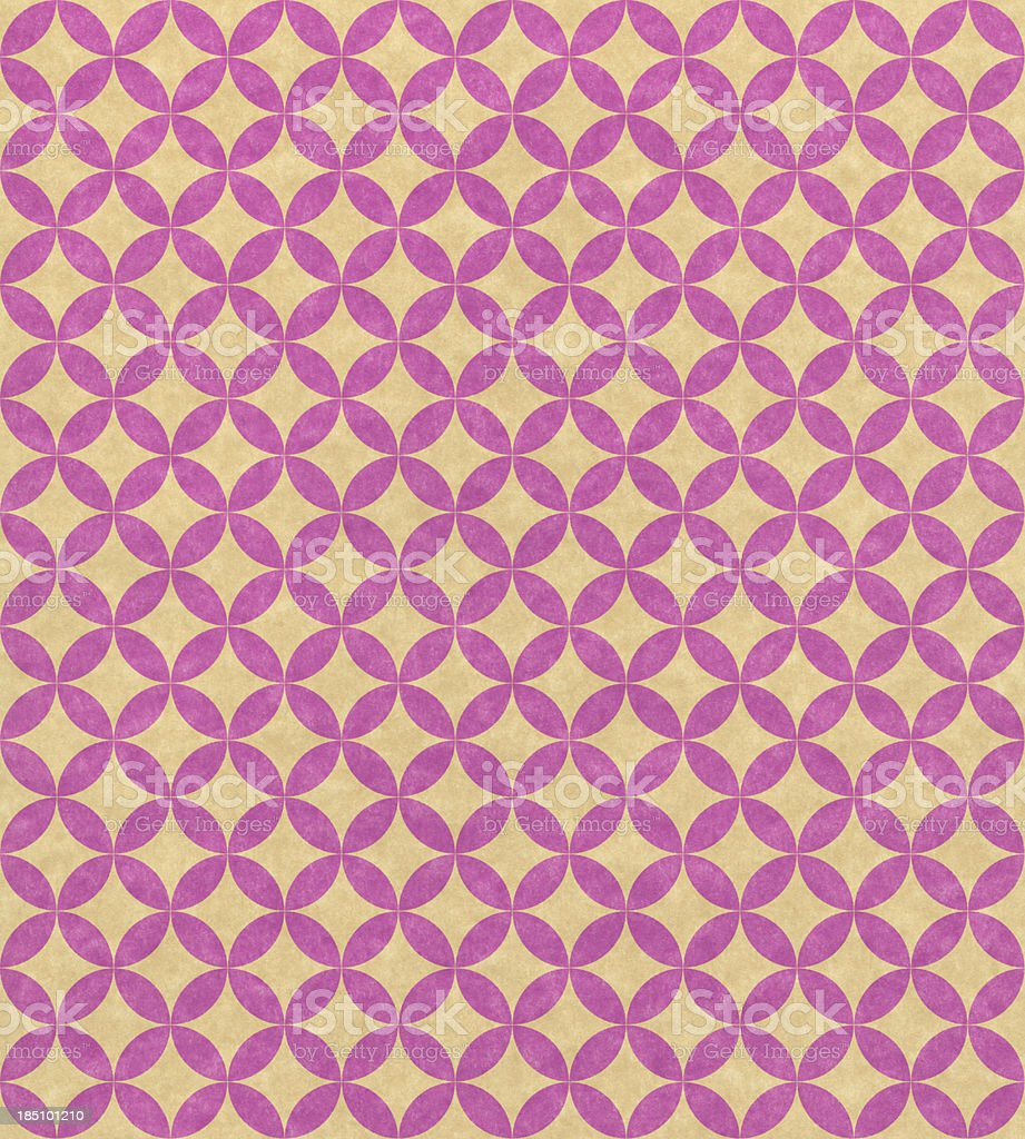 paper with pink geometric pattern royalty-free stock photo