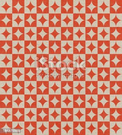 184875559istockphoto paper with retro geometric pattern 184875559