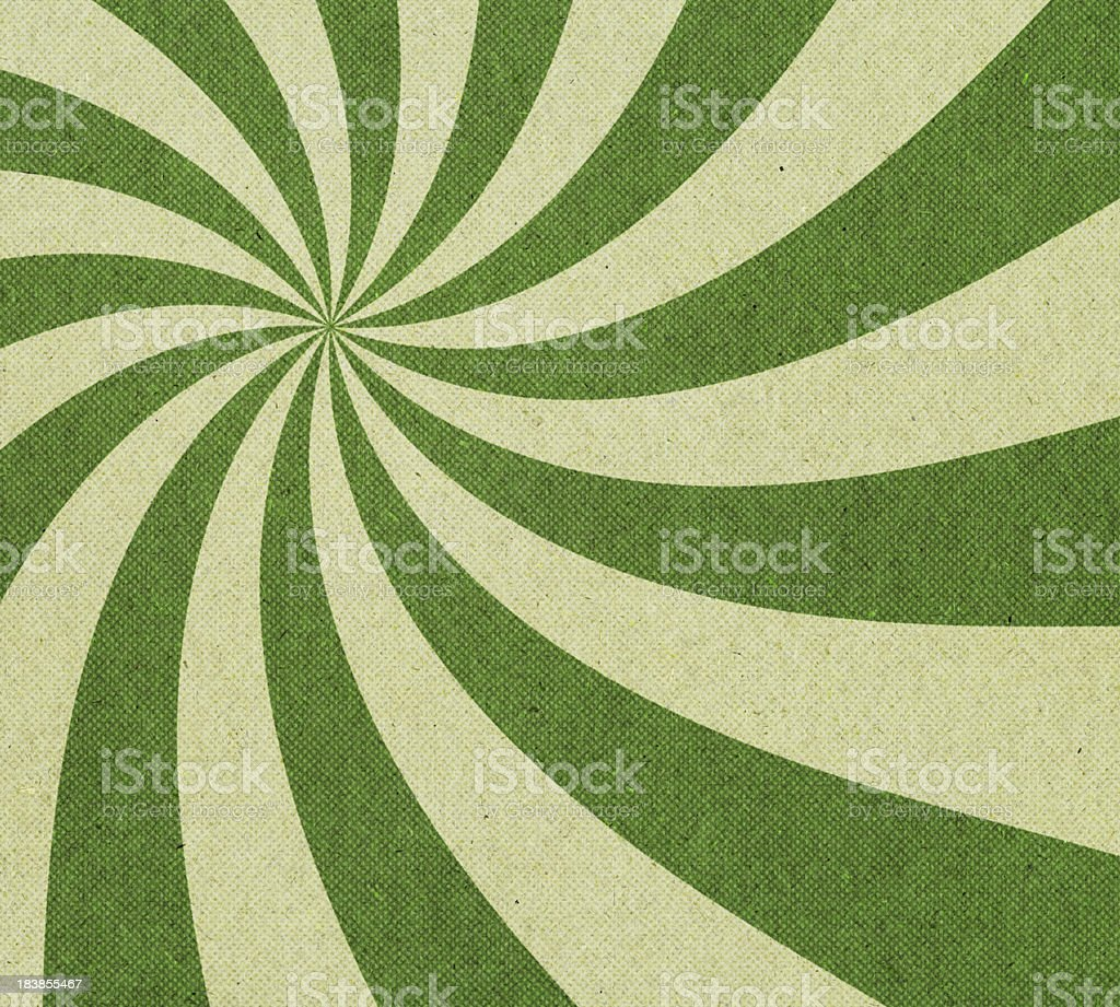 paper with spiral halftone pattern royalty-free stock photo