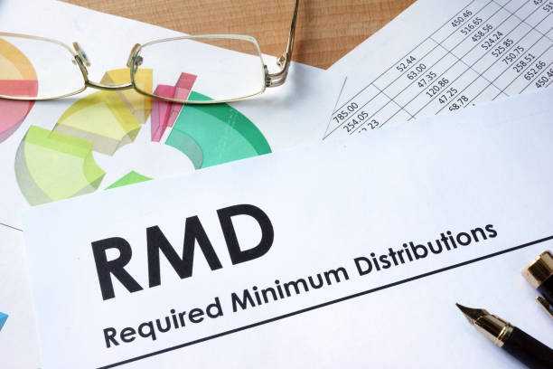 Paper with words RMD required minimum distributions Paper with words RMD required minimum distributions sending stock pictures, royalty-free photos & images