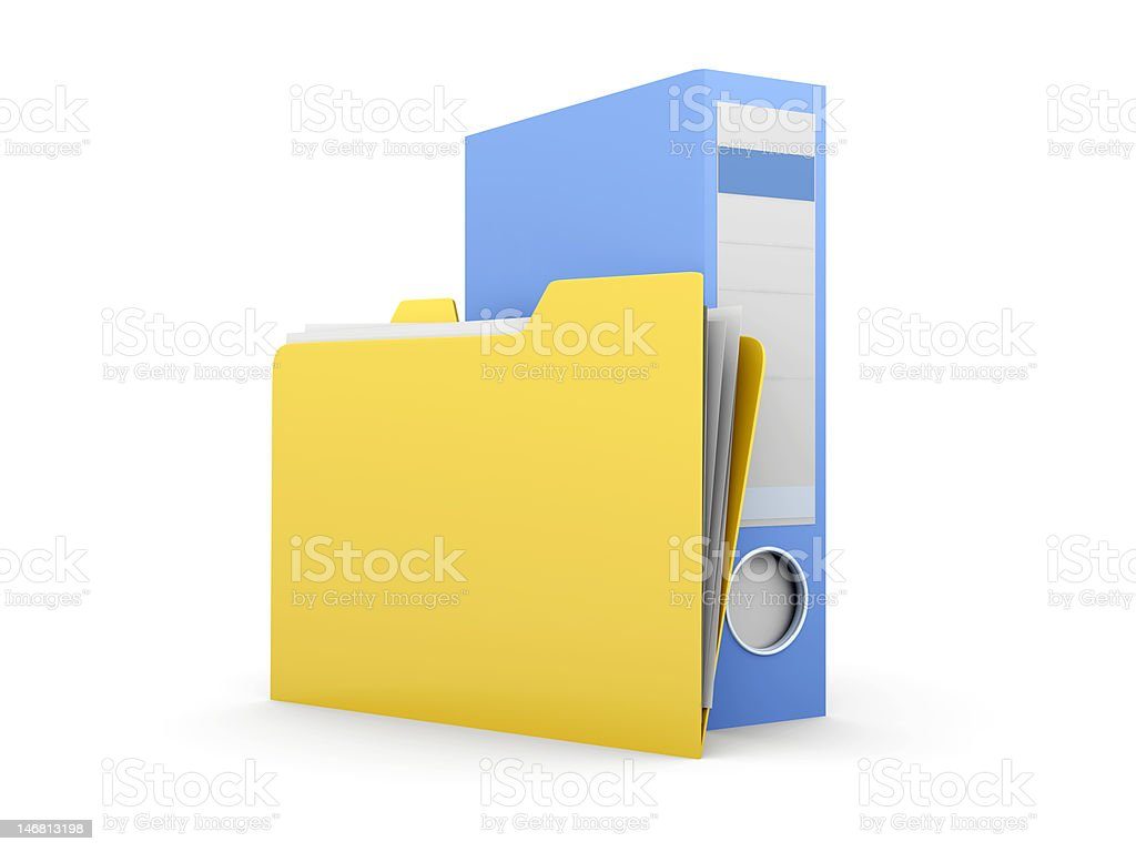 Paper Work royalty-free stock photo