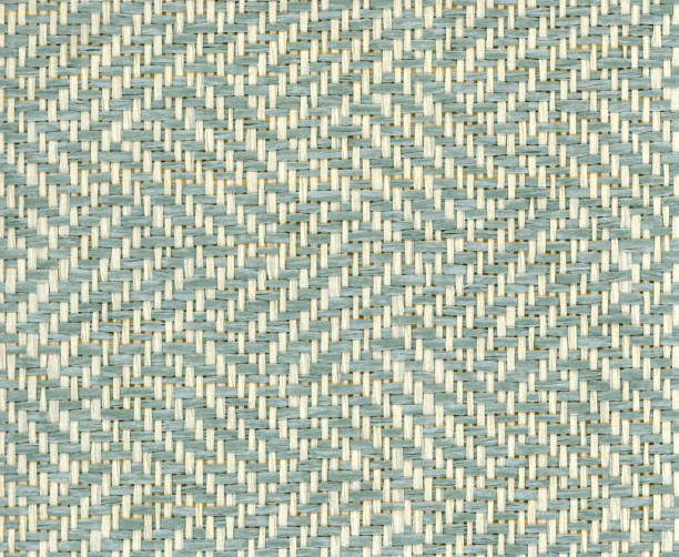 paper woven in broken twill pattern stock photo