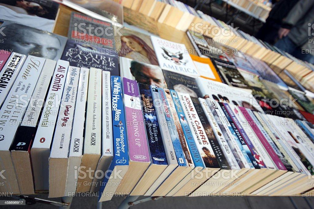 Paperback Books royalty-free stock photo
