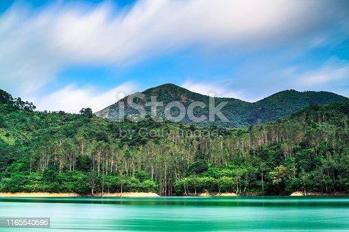 China - East Asia, East Asia, Hong Kong, New Territories, Reservoir