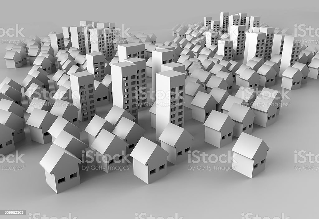 Papercraft Building Stock Photo More Pictures Of Art And Craft