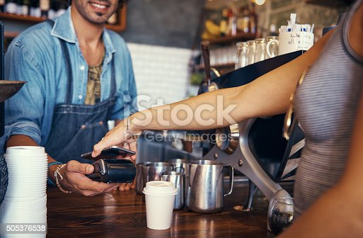 istock Paperless point of sale 505376538