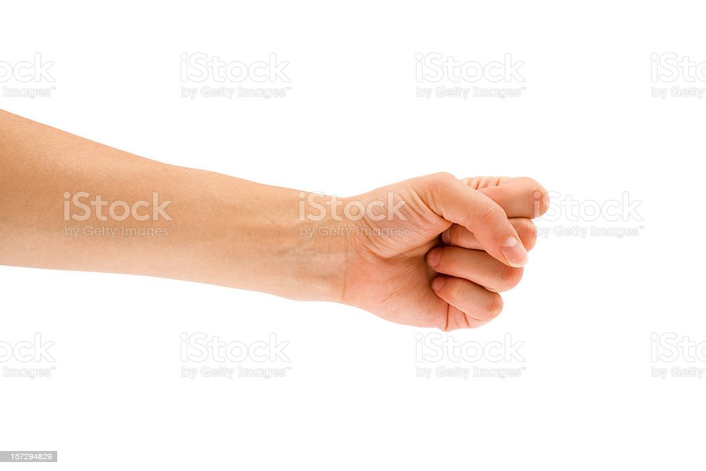 Paper-Rock-Scissors royalty-free stock photo