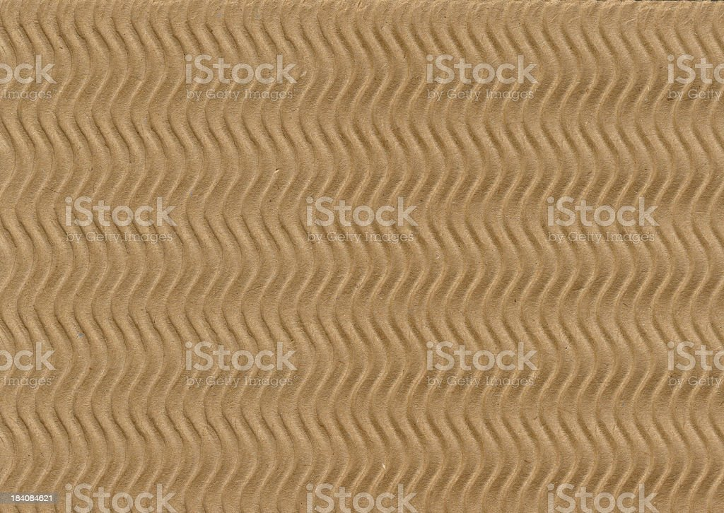 Papers of Distinction: Corrugated Waves royalty-free stock photo