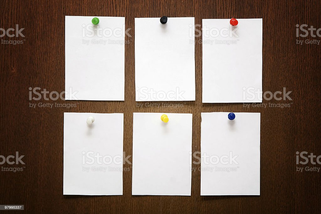 papers royalty free stockfoto