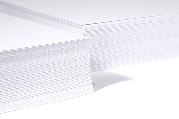 Papers stack stock photo