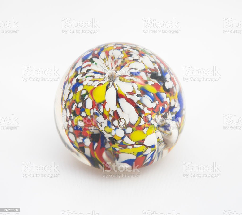Paperweight stock photo