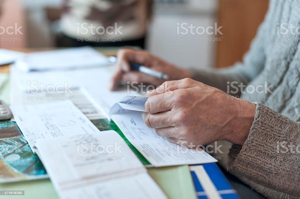 Paperwork stock photo