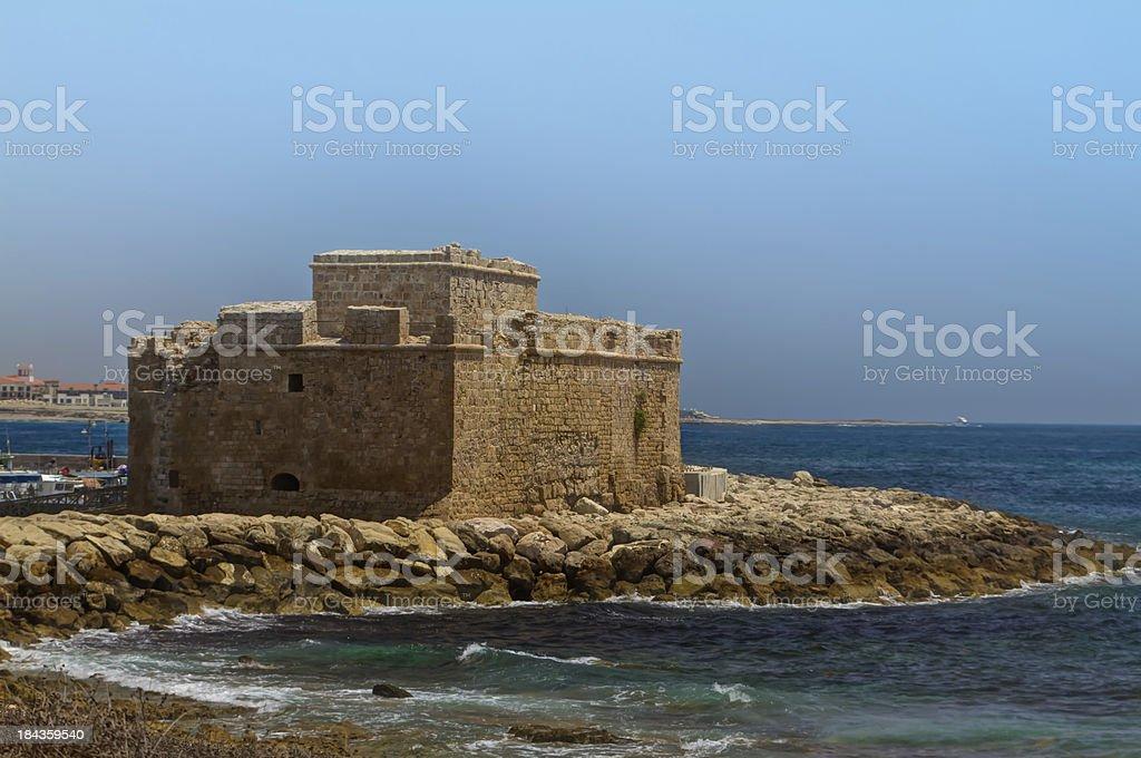 Paphos Castle (Cyprus) stock photo