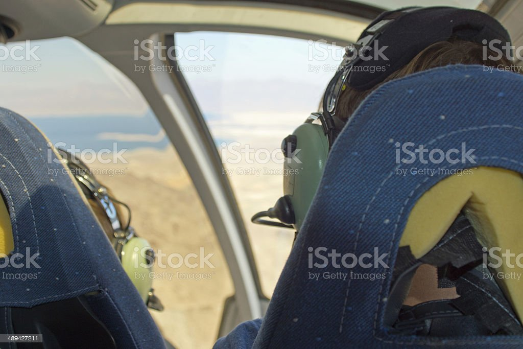 Papillon Grand Canyon tour helicopter royalty-free stock photo