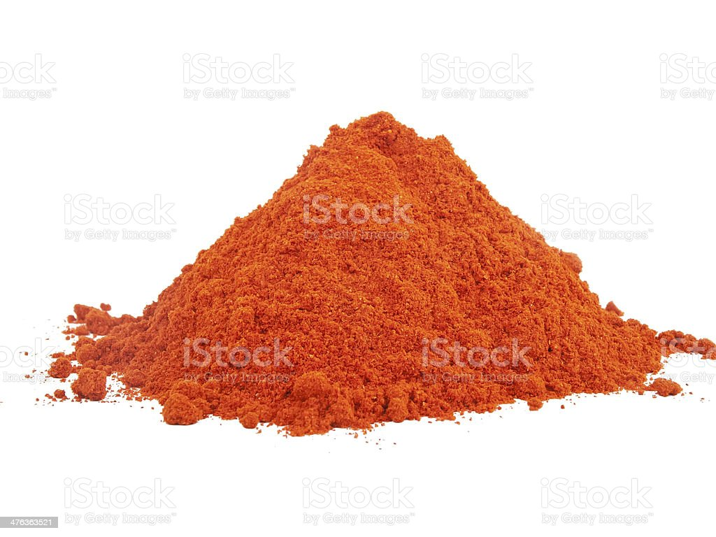 Paprika powder stock photo